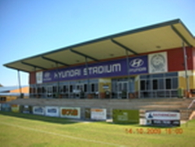 sporting venue signage