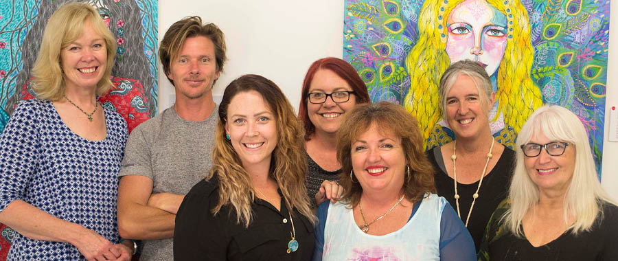 Artists in the 2017 Open Studio Collective