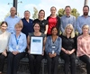 City of Mandurah's Health Services team with Environmental Health Local Government Team of the Year award